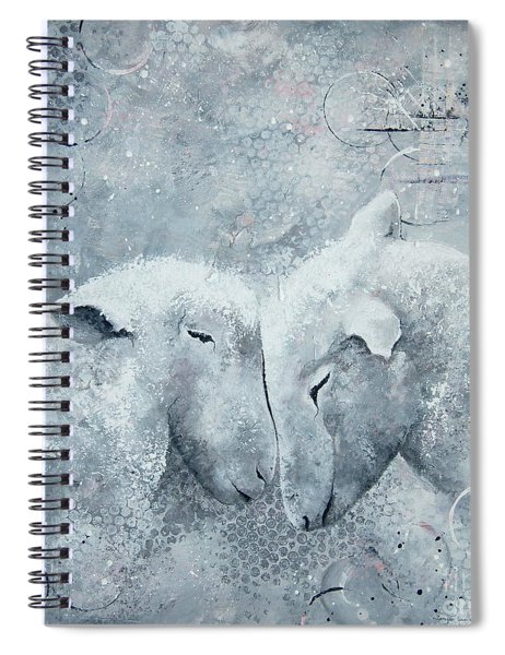 My Sheep Hear My Voice Spiral Notebook