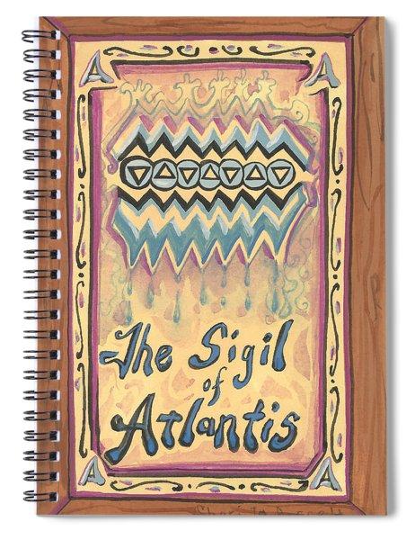 My Sigil Of Atlantis Spiral Notebook