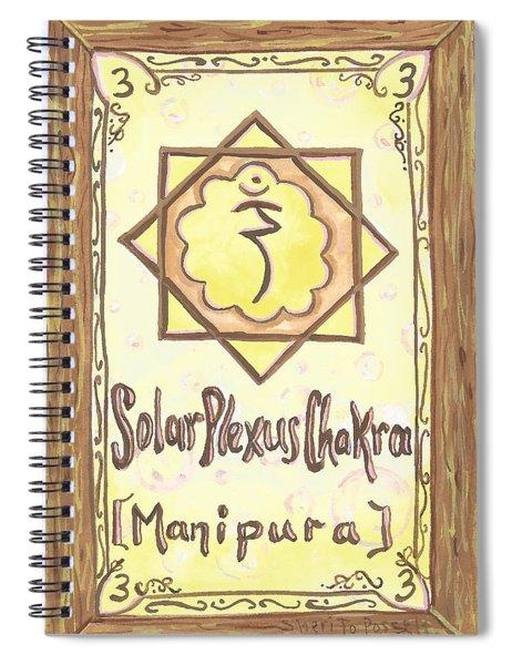 My Solar Plexus Spiral Notebook