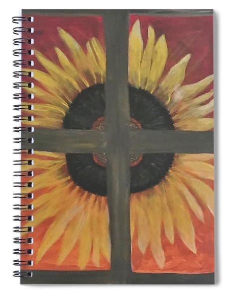 My Son Flower Spiral Notebook