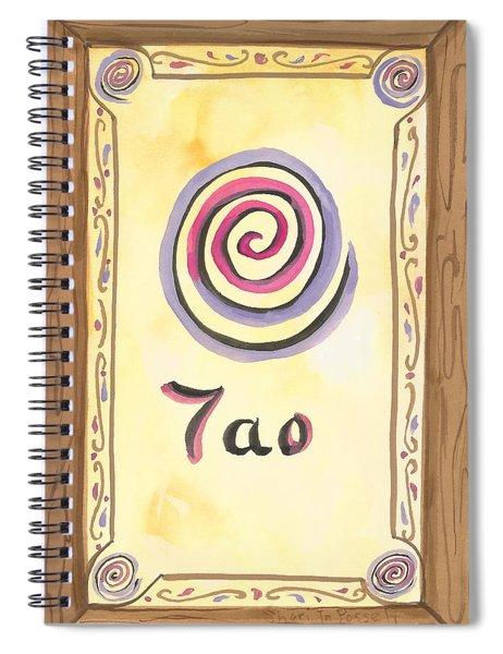 My Tao Spiral Notebook
