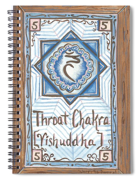 My Throat Chakra Spiral Notebook