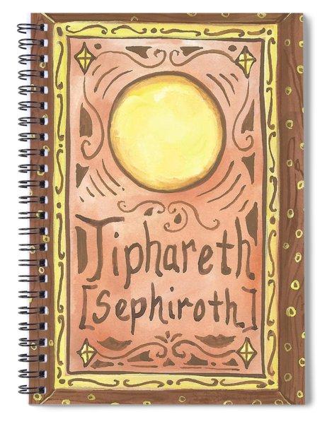 My Tiphareth Spiral Notebook