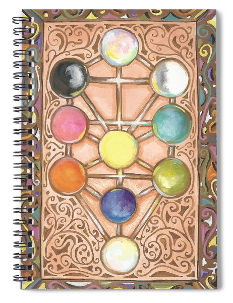 My Tree Of Life Back Spiral Notebook