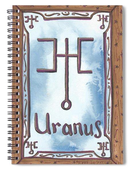 My Uranus Spiral Notebook