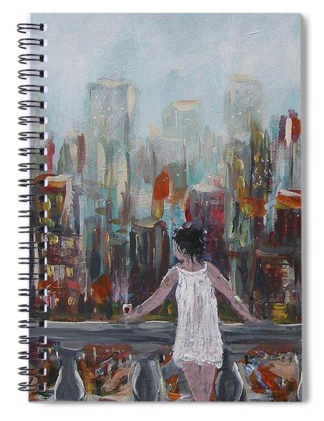 My View Spiral Notebook