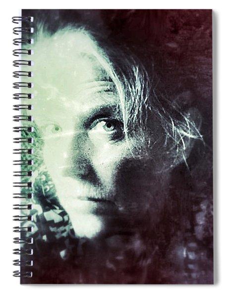 My Vintage Self Spiral Notebook