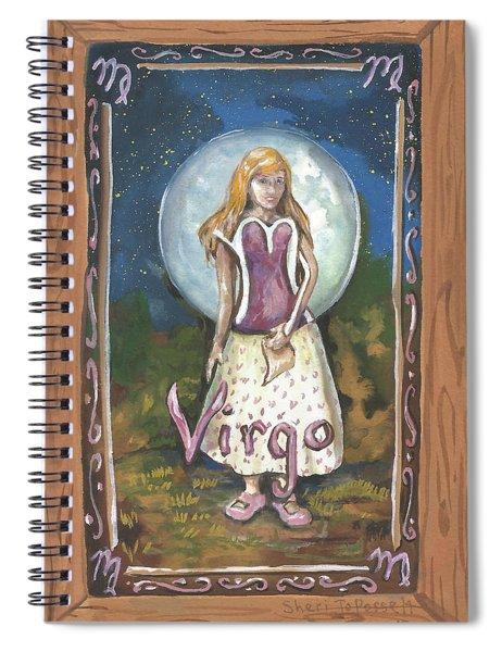 My Virgo Spiral Notebook