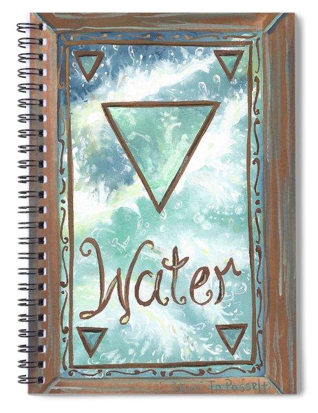 My Water Spiral Notebook