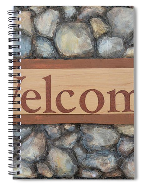 My Welcome Sign Spiral Notebook
