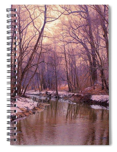 My Winter Morning Spiral Notebook