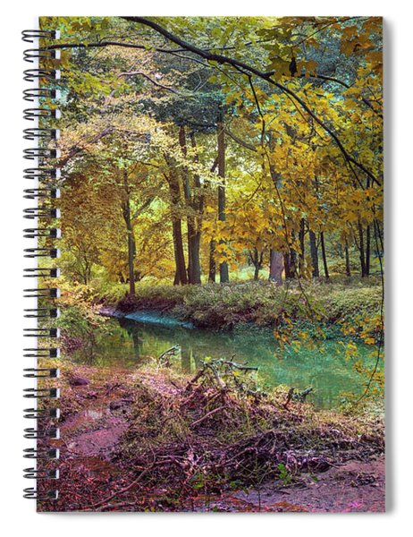 My World Of Color Spiral Notebook