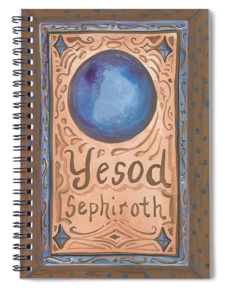 My Yesod Spiral Notebook