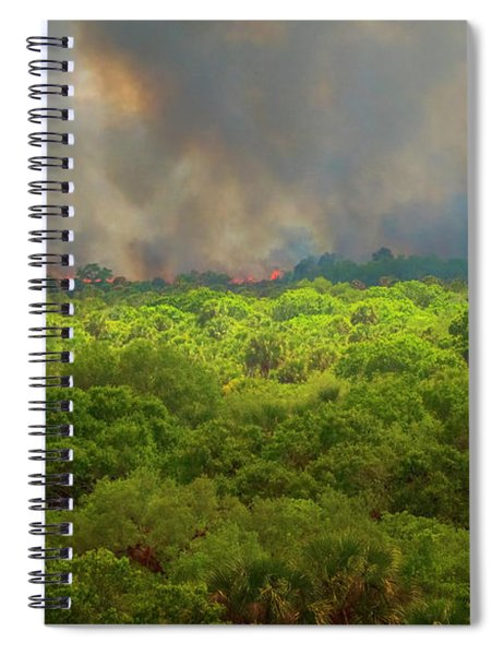 Myakka River Burn Spiral Notebook