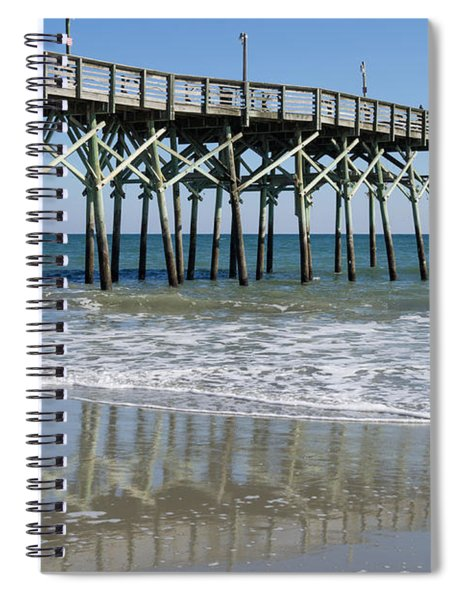 Myrtle Beach Pier Spiral Notebook