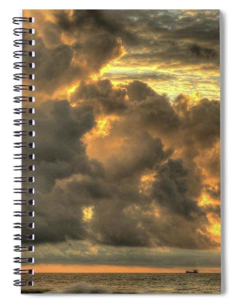 Myrtle Beach Seascape Spiral Notebook