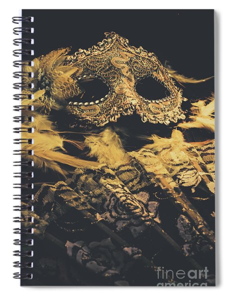 Mysteries In Play Acting Spiral Notebook