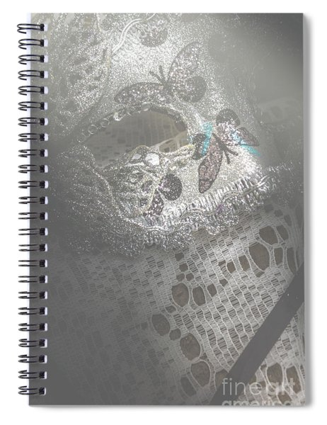 Mysterious Pantomime Play  Spiral Notebook