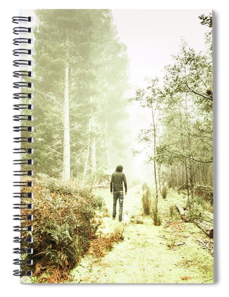 Mysterious Trail Spiral Notebook