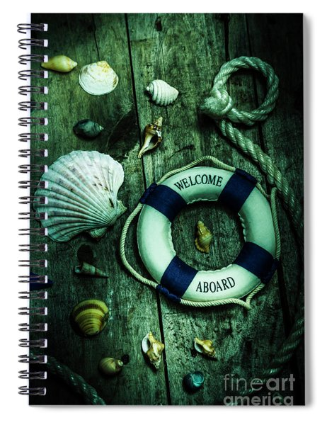 Mystery Aboard The Sunken Cruise Line Spiral Notebook
