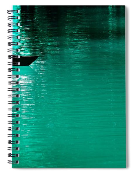 Mystery Boat Spiral Notebook