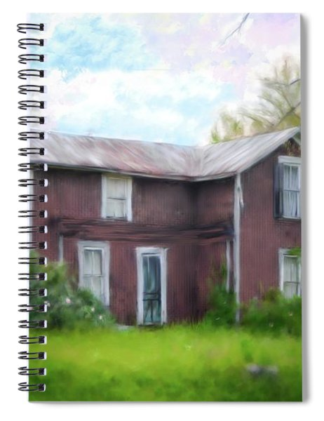 Mystery House Spiral Notebook
