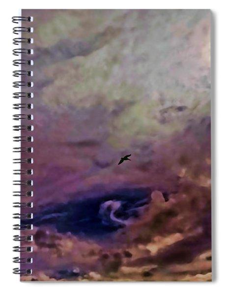 Mystery Sky Spiral Notebook
