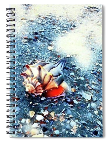 Mystic Conch Spiral Notebook