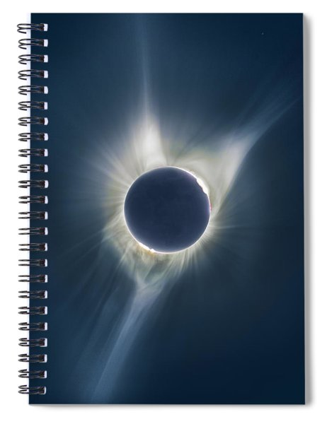 Mystic Eclipse  Spiral Notebook