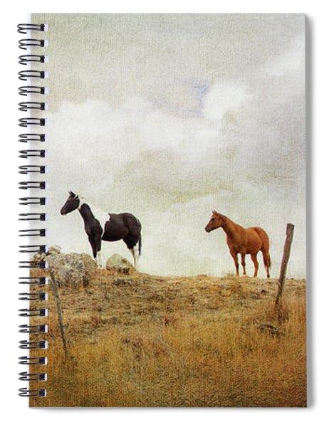Mystic Horses  Spiral Notebook