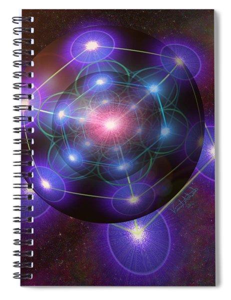 Mystical Metatron Spiral Notebook