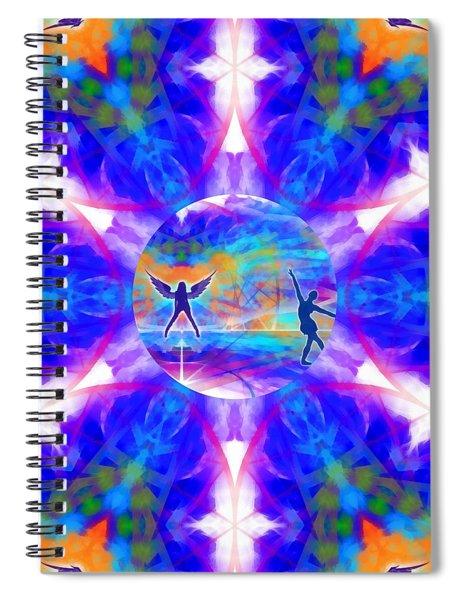 Mystic Universe 15 Kk2 Spiral Notebook by Derek Gedney
