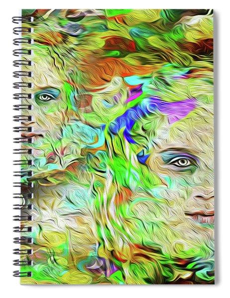 Mystical Eyes Spiral Notebook