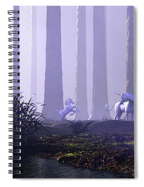 Mystical Forest Spiral Notebook