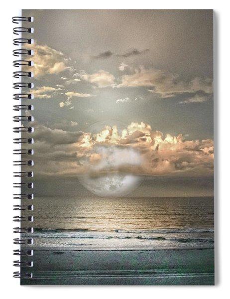 Mystical Moon Spiral Notebook