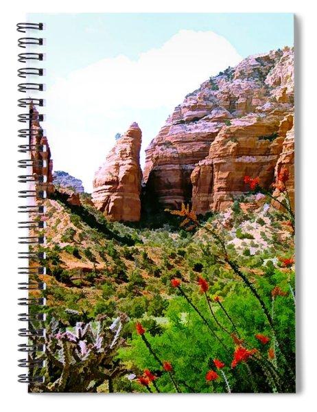 Mystical Red Rocks - Sedona, Arizona Spiral Notebook