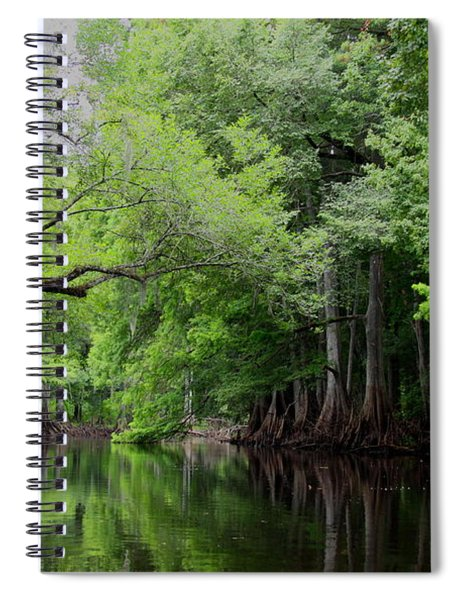 Mystical Withlacoochee River Spiral Notebook
