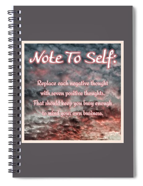 N T S Mind Your Business Spiral Notebook