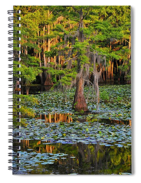 Spiral Notebook featuring the photograph Naked by Skip Hunt