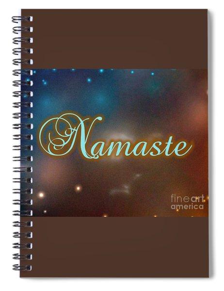 Namaste 5 Spiral Notebook