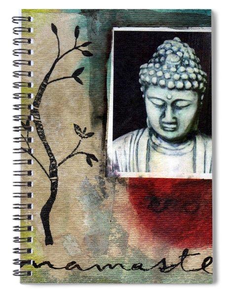 Namaste Buddha Spiral Notebook