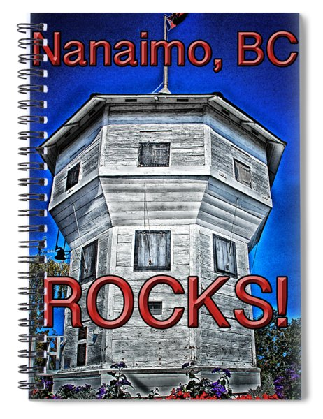 Nanaimo Bastion Spiral Notebook