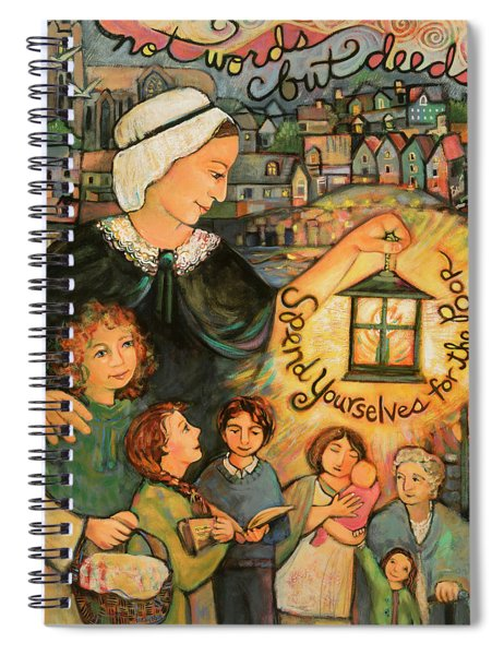 Nano Nagle, Foundress Of The Sisters Of The Presentation Spiral Notebook