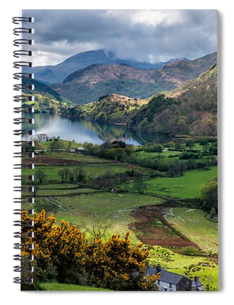 Nant Gwynant Valley Spiral Notebook