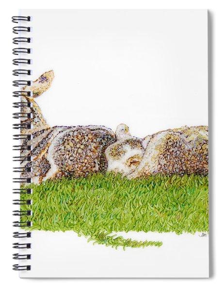 Nap Time Spiral Notebook