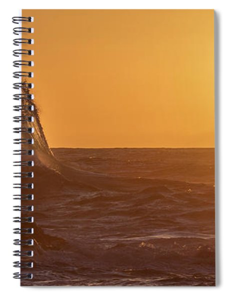 Napali Coast Kauai Hawaii Wave Explosion Iv Spiral Notebook