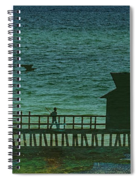 Naples Pier Spiral Notebook