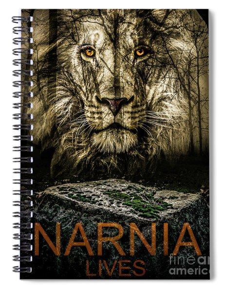 Narnia Lives Spiral Notebook