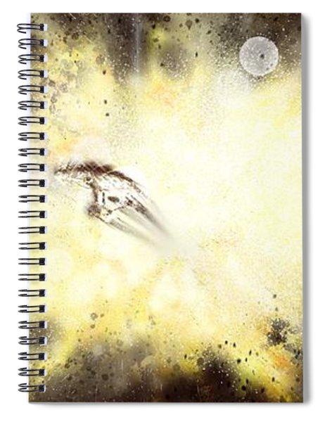 Narrow Escape Spiral Notebook