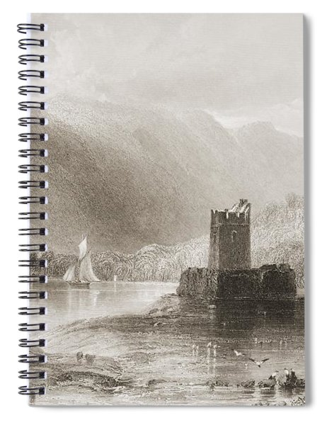 Narrow Water Castle, Carlingford Lough Spiral Notebook
